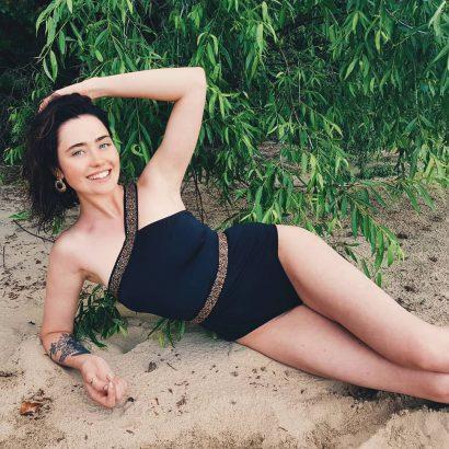 Jednoczęściowy strój plażowy Summer Blink