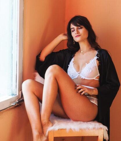 White Dream lingerie set by White Rvbbit
