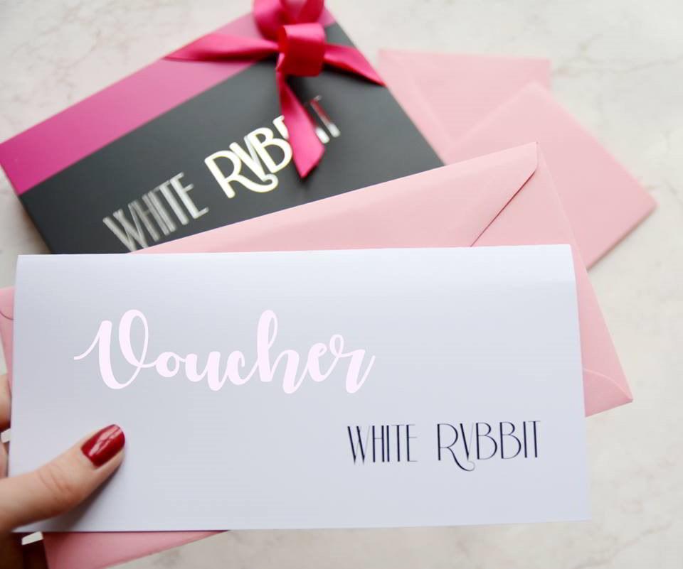 Prezentownik Bielizna White Rvbbit - Karty podarunkowe