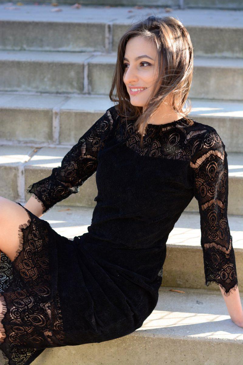 Sukienka ołówkowa Black Velvet