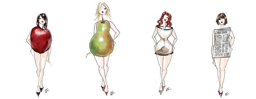 Kobiece sylwetki gruszka jaka bielizna jakie sukienki