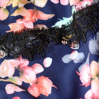 Detal Flower Beauty wiskoza