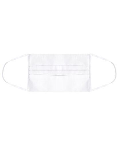 Maseczka ochronna z gumką biala