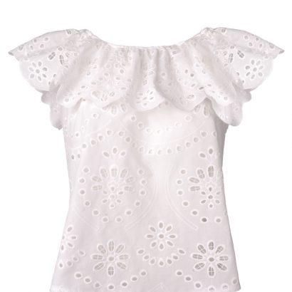 Biała bluzka summer babe