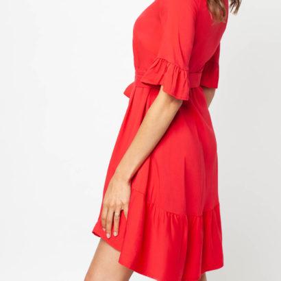 Czerwona sukienka Be my girl