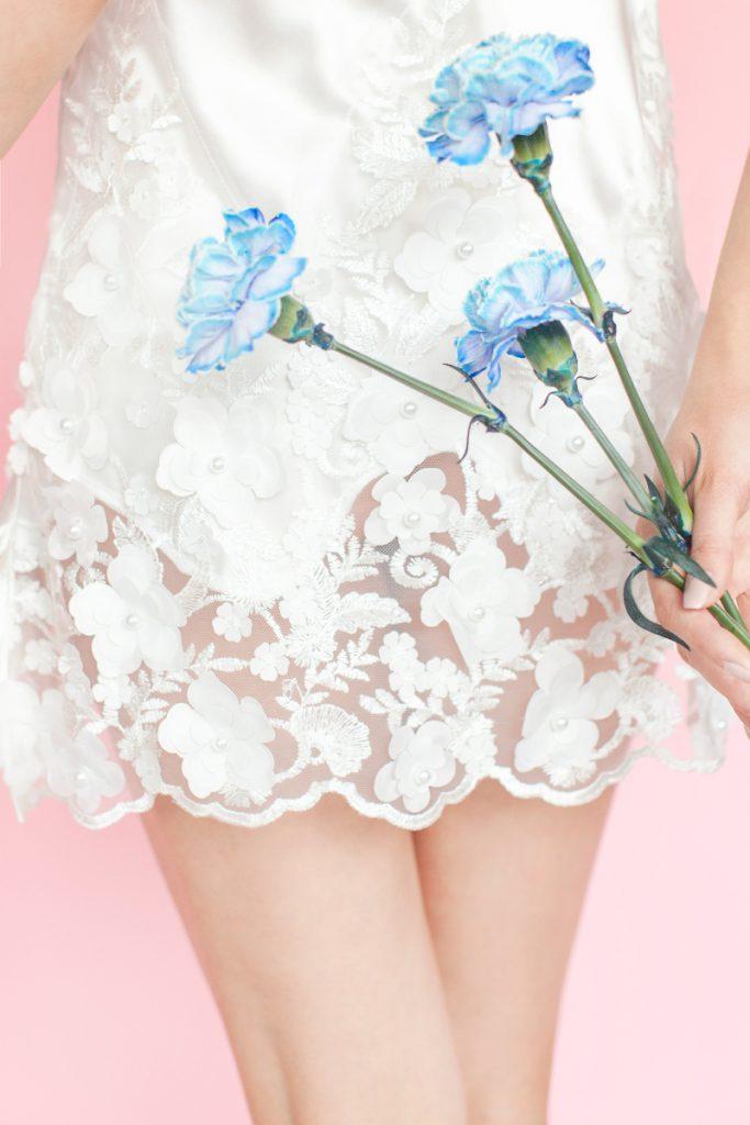 White Rvbbit biała bielizna ślubna