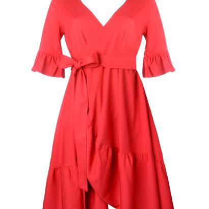 Czerwona sukienka mini Be My Girl