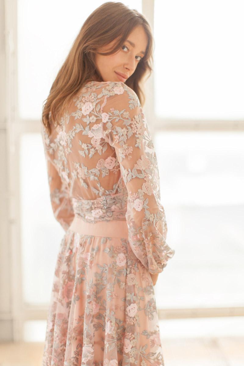 Koronkowa sukienka na wesele Lacie WHITE RVBBIT