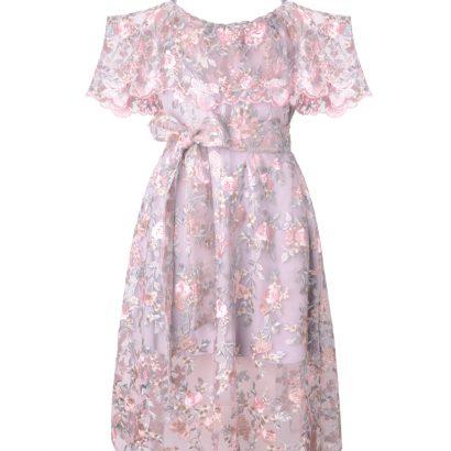 Koronkowa sukienka Lacie White Rvbbit