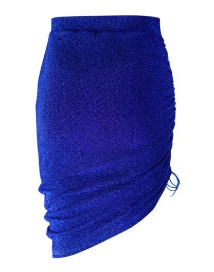 Some Magic blue glittery skirt