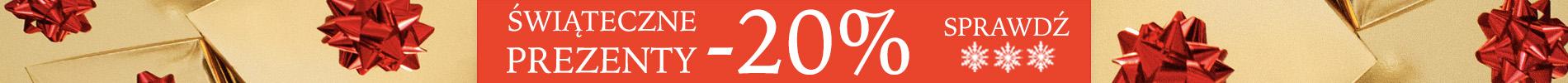 Świąteczne prezenty -20% - Sprawdź!