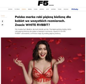 White Rvbbit artykuł dla F5