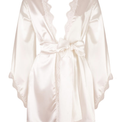 Satynowe kimono Vanilla Sky