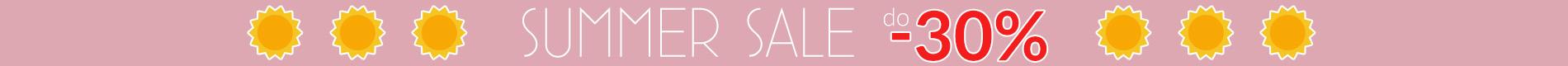 Summer Sale do -30% promocja!