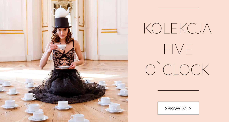 Kolekcja Five o`clock - bielizna i sukienki